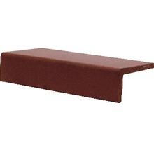 Steinzeug Längsschenkel Rot uni11,5 x 24 cm