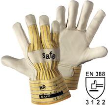 Arbeitshandschuhe Safe beige/gelb Gr. 10,5