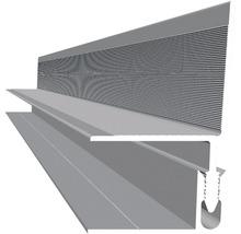 Konsta Wandabschluss Aluminium 2500x40x40 mm