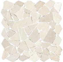 Bruchmosaik Biancone 30,5x30,5 cm