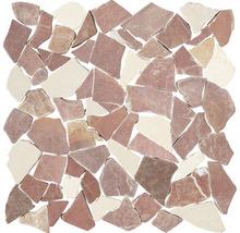 Bruchmosaik Biancone & Rosso Verona 30,5x30,5 cm
