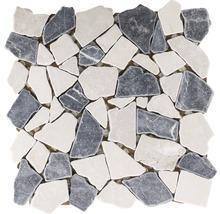 Bruchmosaik Biancone Java 30,5x30,5 cm