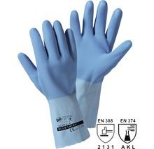 Arbeitshandschuhe Blue Latex blau Gr. 8
