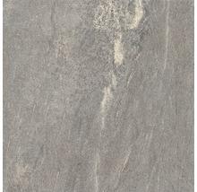 Feinsteinzeug Terrassenplatte Ultra Aspen fume 60x60x2 cm rektifiziert
