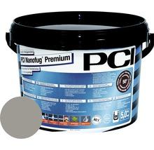 PCI Nanofug Premium Variabler Flexfugenmörtel für alle Fliesen und Natursteine sandgrau 5 kg