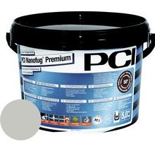 PCI Nanofug Premium Variabler Flexfugenmörtel für alle Fliesen und Natursteine hellgrau 5 kg