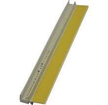 Anputzleiste PVC inkl. Schutzlippe Länge: 2,60mtr.