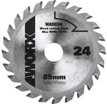 Kreissägeblatt Worx 24 Z für Versacut