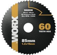 Kreissägeblatt Worx 60 Z für Versacut