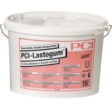 PCI Lastogum Wasserdichte flexible Schutzschicht unter Keramikbelägen in Dusche und Bad weiss 15 kg