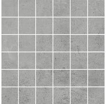 Feinsteinzeugmosaik Hometec Grey lap. 29,8x29,8 cm Inhalt 3 Stück