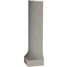 Feinsteinzeug Hohlkehlleiste Außenecke Nevada grau ungl. 9x2,3 cm