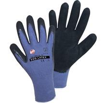 Arbeitshandschuhe Eco Foam blau/schwarz Gr. 9