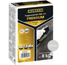 Fugenmörtel Murexin FM60 Premium Trendline zementgrau 8 kg