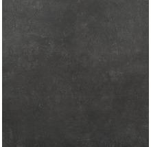 Feinsteinzeug Wand- und Bodenfliese HOMEtek black matt 100 x 100 cm