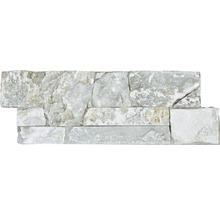 Wandverblender Naturstein Pietra di Garda auf Zement 20 x 60 cm