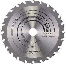 Kreissägeblatt Speedline Wood H Ø 165x20 Z 24