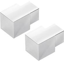 Außenecke Dural Squareline Alu silber 10 mm 2 Stück