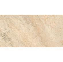 Feinsteinzeug Wand- und Bodenfliese Quarzite Arena 32 x 62,5 cm