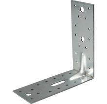 Schwerlast-Winkelverbinder m. Sicke 150 x 150 x 65 mm, sendzimirverzinkt, 1 Stück