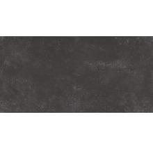 Feinsteinzeug Wand- und Bodenfliese Marlin schwarz 30x60 cm