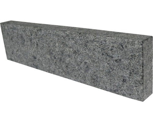 Flairstone Granit Randstein Cenith Silver grey 60 x 15 x 5 cm