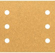 Schleifblatt für Multischleifer, 115x107mm K40