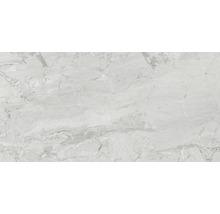 Wand- und Bodenfliese Sicilia Cenere poliert grau 60 x 120 cm