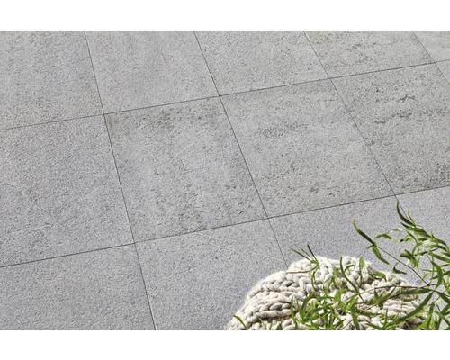 Flairstone Granit Terrassenplatte Phoenix grau 60 x 40 x 3 cm