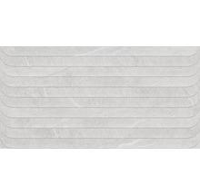 Feinsteinzeug Dekorfliese Lavik Pearl 32X62,5cm
