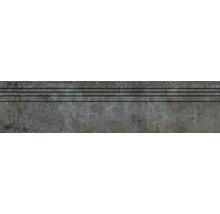 Feinsteinzeug Treppenstufe Industrial night lappato 29,5 cm x 120 cm
