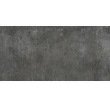 Wand- und Bodenfliese Industrial night anpoliert 80 x 160 cm