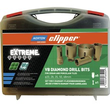 Norton Clipper Diamantbohr-Koffer Extreme VB Ø20-48