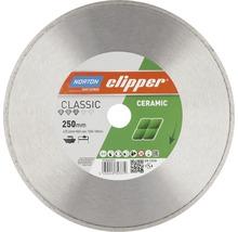 Norton Clipper Diamantscheibe Classic Ceramic Ø 250 mm