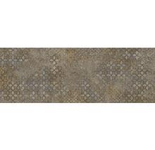 Steingut Dekorfliese Downtown Copper 25 x 70 cm