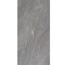 Feinsteinzeug Terrassenplatte Ultra Aspen anthrazit 40,5x81x2 cm rektifiziert