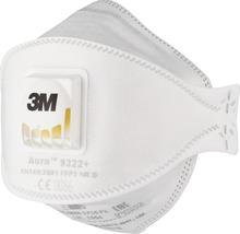 Atemschutzmaske 3M™ 9322PRO, 5 Stück Schutzklasse FFP2