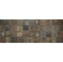 Steingut Wandfliese Jasper CR Dark 33,3X90cm rektifiziert