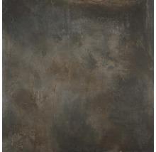 Feinsteinzeug Wand- und Bodenfliese Jasper Iron 100x100cm rektifiziert