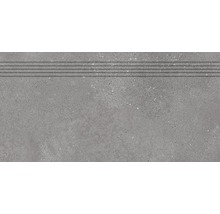 Stufenfliese Rako Betonico grau 30x60cm