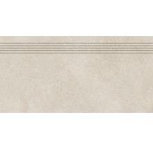 Stufenfliese Rako Betonico hellbeige 30x60cm