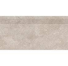 Stufenfliese Rako Betonico dunkelbeige 30x60cm