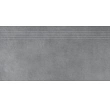 Stufenfliese Rako Extra dunkelgrau 30x60cm