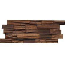 Holzverblender Axewood Bangkirai Coffee 20x50 cm