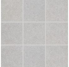 Feinsteinzeugmosaik Block hell grau 30x30cm