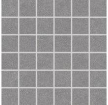 Feinsteinzeugmosaik Block dunkel grau 30x30cm