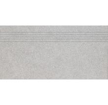 Stufenfliese Rako Block hell grau 59,8x29,8cm