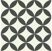 Feinsteinzeug Wand- und Bodenfliese D_segni micro 1 freddo 20x20 cm