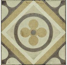 Bodenfliese Ragno Ottocento tappeto 7 ambra 20x20 cm