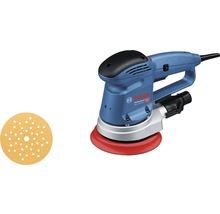 Exzenterschleifer Bosch Professional GEX 34-150 inkl. 1 x Mehrlochschleifblatt C470 und Schleifteller (150 mm)